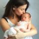 Това се случва в мозъка на детето, когато майката го целуне! Ултразвуковото изображение говори повече хиляда думи /СНИМКА/