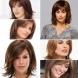 Италианска прическа за жени за средна коса