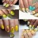 24 жълти маникюри с рисунки