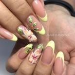 27 изкушения за вашите нокти с флорални мотиви (снимки)
