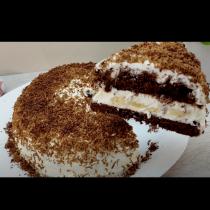 Торта БЕЗ ФУРНА за 15 минути - сочна мекота и нежна сладост!
