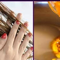 Домашна смес за лъскава и еластична коса, която не се нацепва и се предотвратява стареенето на косъма