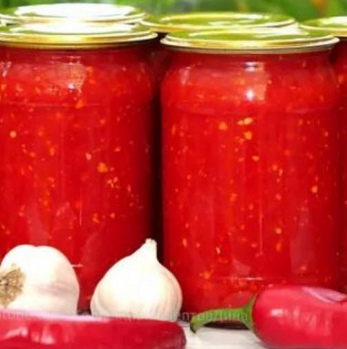 Лютеница Кобра за зимата - най-простата и вкусна рецепта