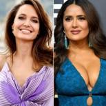 Салма Хайек чукна 55 с феноменална фигура и изненада от Анджелина Джоли:
