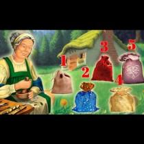 Старата магьосница приготви специален подарък за всички. Коя торбичка избирате?