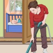 Как да успокоим бебето си и да го накараме да се чувства отново в безопасност