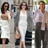 Ежедневният стил на Анджелина Джоли (Снимки):