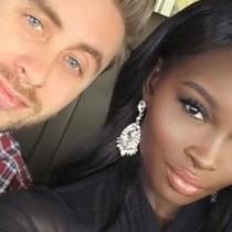 Тъмнокожа красавица и синеокият ѝ съпруг-Децата им само да видите!-Снимки