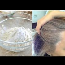 Вземаш шепа брашно и измиваш с него косата! Всички жени в нета полудяха по този метод: