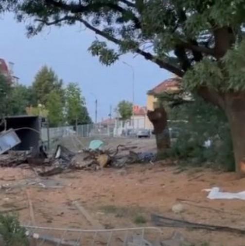 Първи кадри от мястото, където загинаха баща и двете му невръстни деца-Снимки и видео