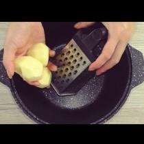 Само 2 яйца и 3 картофа за тази турбо вкусотия! Само сменяш плънката и ядеш до пръсване: