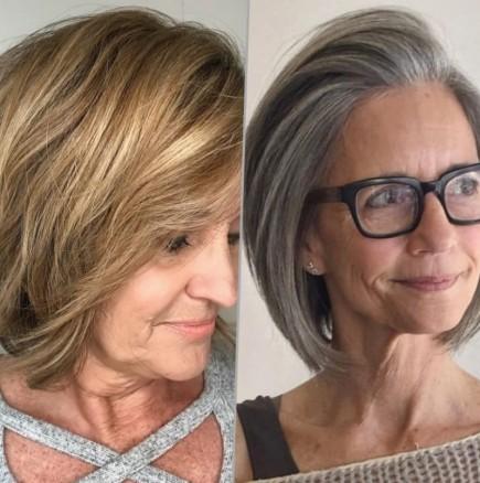 ХИТ-прически за дами над 50 - красиви нови варианти (Снимки):