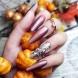 18 аристократични есенни маникюра - лукс за кралици! (Снимки):