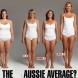 Вярва ли ви се? Всяка от тези жени тежи 70 кг !!!