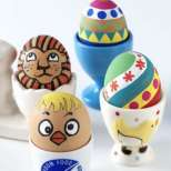 Уникално декорирани великденски яйца (снимки)
