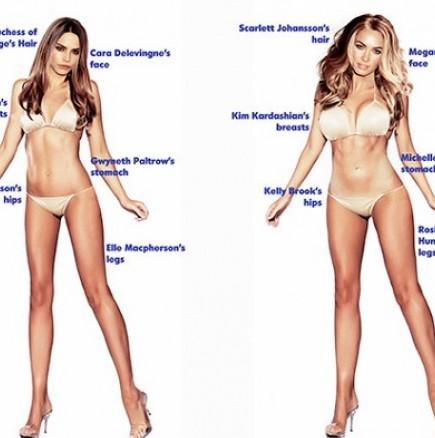 Ето какво е идеалното тяло според мъжете и според жените!