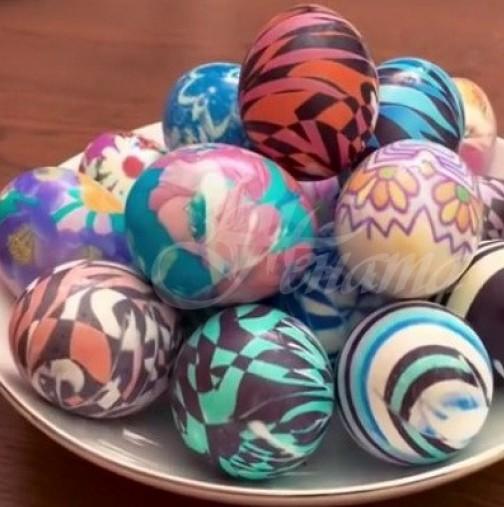 12 свежи идеи за боядисване и украса на яйца за Великден
