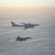 Два руски бомбардировача и боен кораб опасно близо до Англия!