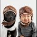 Вижте сладките портрети, които майка прави на 10-месечното си бебе и неговото куче