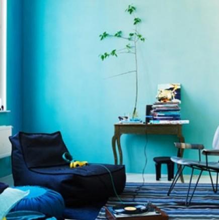 Създай сам ... Омбре стени в дома си