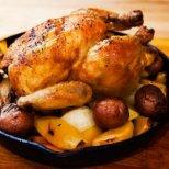 Вкусни рецепти с печено пиле