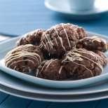 Шоколадово-марципанови сладки