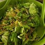 Ориенталска салата с пържено фиде