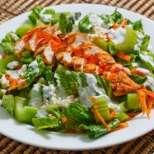 Пилешка салата Бъфало