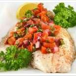 Риба във фолио по мексикански