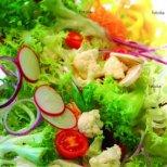 Свежи салати за лятото