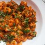 Постни картофки в доматен сос