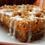 Постен тиквен сладкиш с орехи