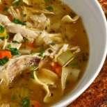 Китайска пилешка супа