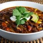 Мексиканска бобена супа с бекон и кайма