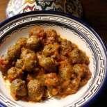 Екзотична малинена салата с домати