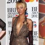 Роклите на звездите за наградите Brit 2012