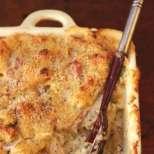 Суфле с праз и хляб