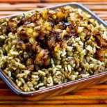Мжадара - леща с ориз по ливански