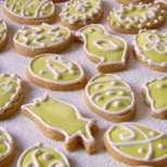 Великденски бисквити с глазура