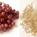 Диета за отслабване с  ориз и грозде-1 кг за 2 дни