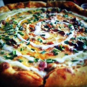 Пица с картофено тесто