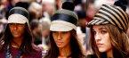 Пролетни тенденции при шапките за 2012