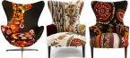 Забележително цветната колекция столове на Xalcharo