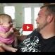 """2-месечно бебе казва """"обичам те"""" на своя Баща - ВИДЕО"""
