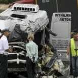 Седем загинали след катастрофа с автобус