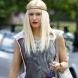 Хит в прическите за лято 2014: Платинено руса коса със сиви примеси