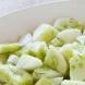 Вечеря за плосък корем: Салата от краставици и тиквички!