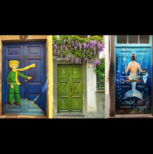 25 врати, които сякаш водят в друг, приказен свят