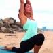 Йога на плажа (Видео)