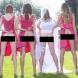 Нова тенденция в сватбите - булките и шаферките си показват зад**ците